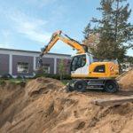 Liebherr A 914 Litronic Wheeled Excavator Groff Equipment