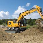 A 914 Litronic Wheeled Excavator