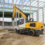 Liebherr A 924 Heavy Lift Litronic Wheeled Excavator Groff Equipment