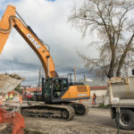 Case CX350D Excavator Groff Equipment