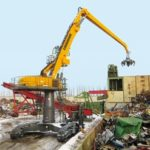 Liebherr ER 944 C High Rise Litronic Electric Scrap Handler Groff Equipment