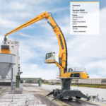 Liebherr LH 110 C Port Litronic Scrap Handler Groff Equipment