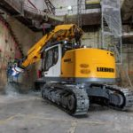 Liebherr R 950 Tunnel Litronic Crawler Excavator Groff Equipment