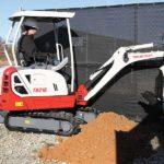Takeuchi TB216H Mini Excavator Groff Equipment