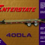 Interstate 30DLE Tag Trailer Groff Equipment