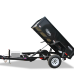 Cam Superline Single Axle Dump Trailer Groff Equipment