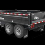 Cam Superline Deckover Dump Trailer Groff Equipment