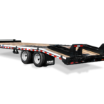 Cam Superline 10,12, 15-ton Heavy Duty Deckover Trailer Groff Equipment