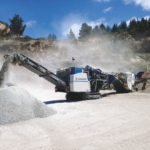 MCO9iEVO Kleemann mobile cone crusher, groff equipment