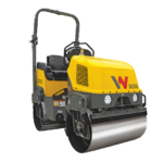 Wacker Neuson RD12A Tandem Roller Groff Equipment