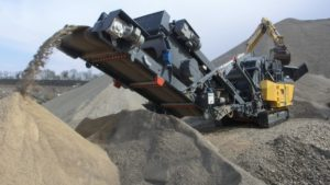 RM V550GO Compact Crusher, groff equipment