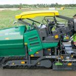 super 1300 vogele asphalt paver, groff equipment
