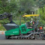super 2000-3i vogele asphalt paver, groff equipment