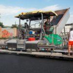 super 2100-3i vogele asphalt paver, groff equipment