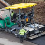 Vogele AB 500 Extending Screed Groff Equipment