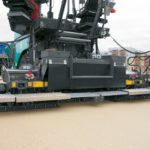 Vogele AB 340 Extending Screed Groff Equipment