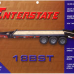 Interstate 18BST Tag Trailer Groff Equipment