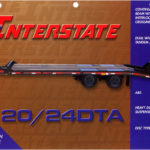 Interstate 20DTA 24DTA Tag Trailer Groff Equipment