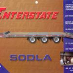 Interstate 50DLA Tag Trailer Groff Equipment