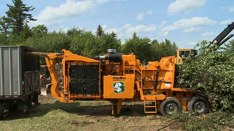 Chipmax 484 Industrial Wood Chipper Groff Tractor Equipment