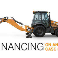 0% financing on any case backhoe at Groff Tractor and Equipment