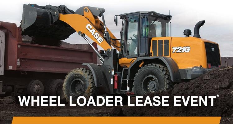 CASE: Wheel Loader Lease Event