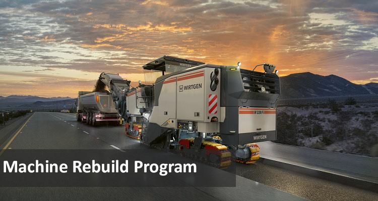 Wirtgen Machine Rebuild Program