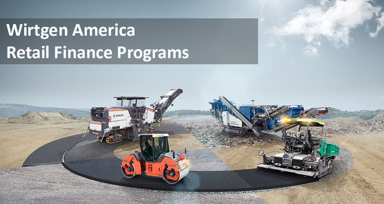 Wirtgen America: Retail Finance Program