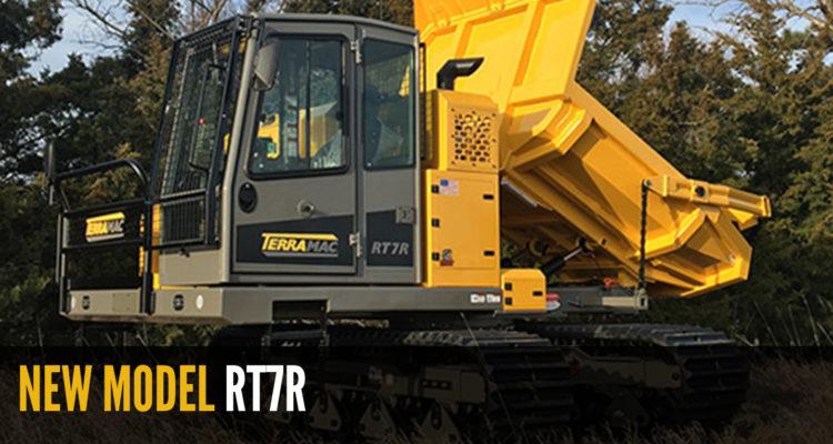 Terramac RT7R Rotating Crawler Carrier