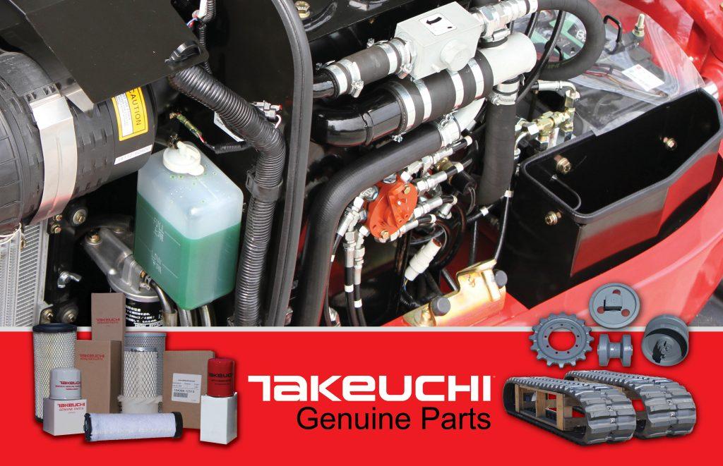 Genuine Takeuchi Parts